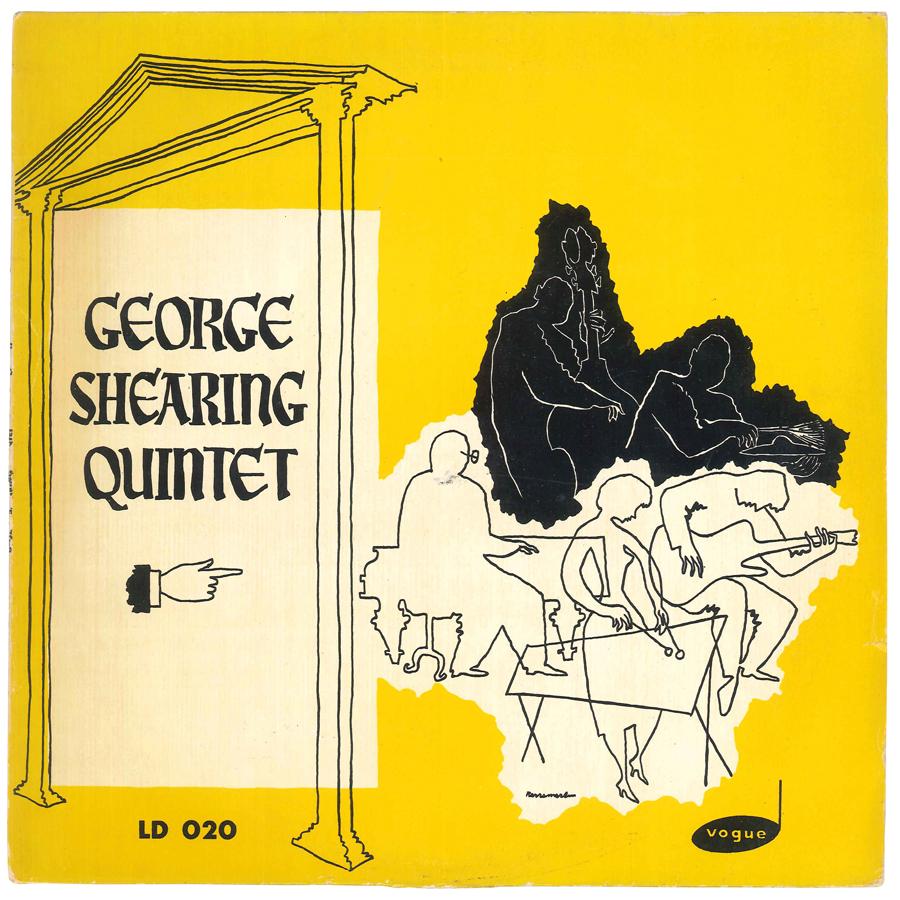 Album Jazz - Label Vogue - George Shearing Quintet