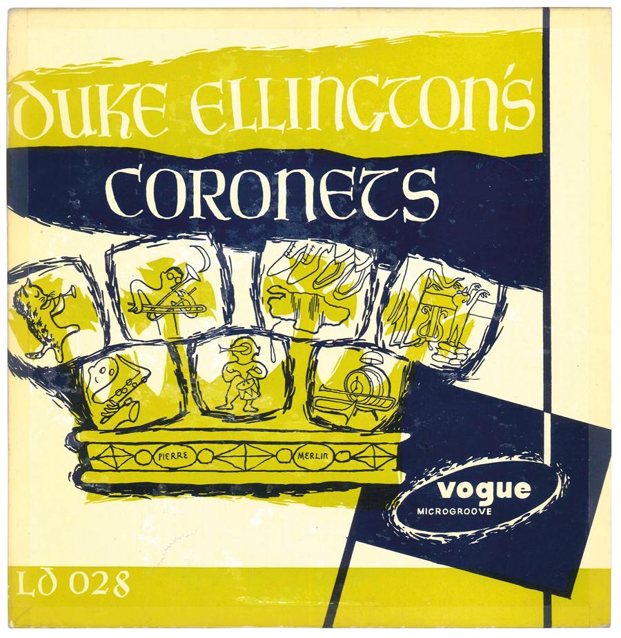 Album Jazz - Label Vogue - Duke Ellington's Coronets