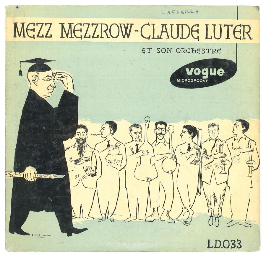 Album Jazz - Label Vogue - Mezz Mezzrow, Claude Luter et son orchestre