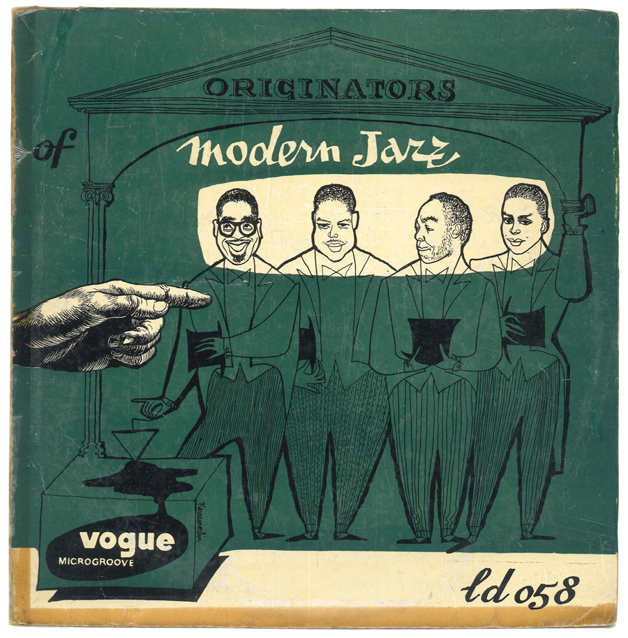 Album Jazz - label Vogue - Originators of modern Jazz