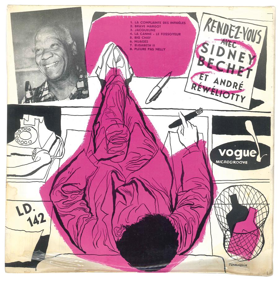 Album Jazz - Label Vogue - Rendez-vous avec Sidney Bechet et André Réwéliotty